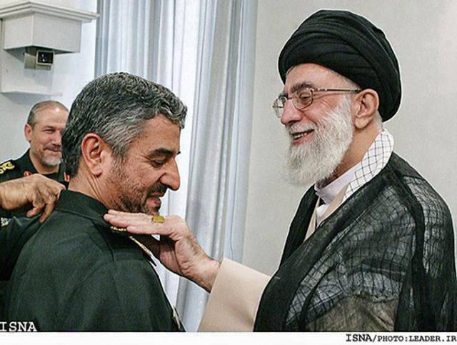 Khamenei and Jafari