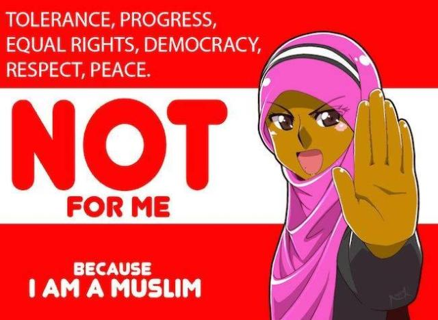 No peace for Muslims