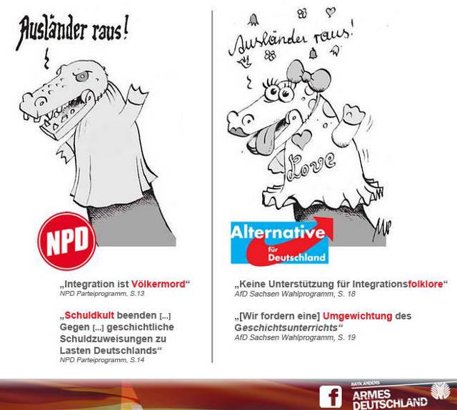 AFD ist die NPD, nur netter