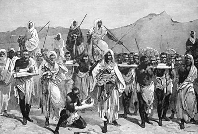 Afrikanische Sklaven