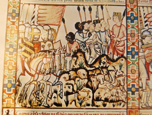 Black slaves in Jihad against the non islamic world