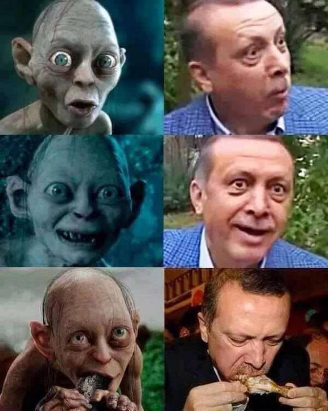 Der irre Allahist und Tork Erdogan