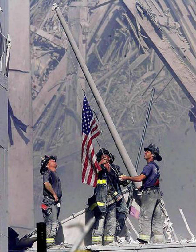 Remember the heroes of 911
