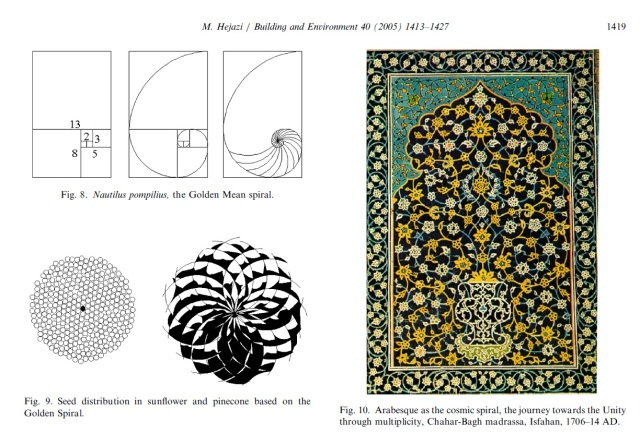 Mehrdad Hejazi - Geometry in nature and Persian architecture