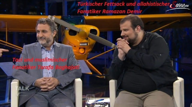 Muslimische Fanatiker Ramazan Demir und Tarafa Baghajati