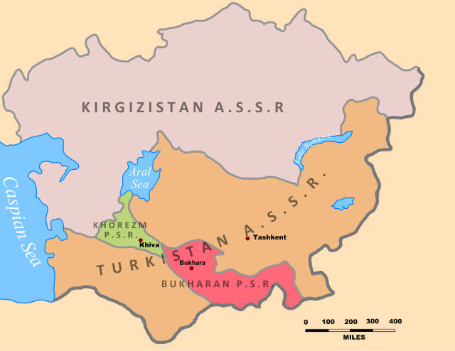 Soviet Central Asia 1922
