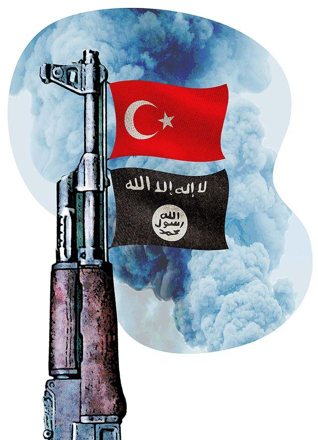Turkey is ISIS and ISIS is Turkey