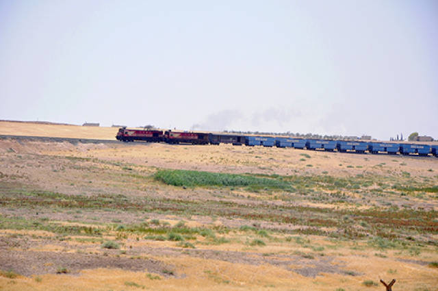 Turkish Train helping ISIS in Kobane