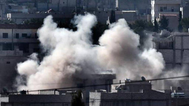 Kurd woman suicide attack on ISIS in East Kobane