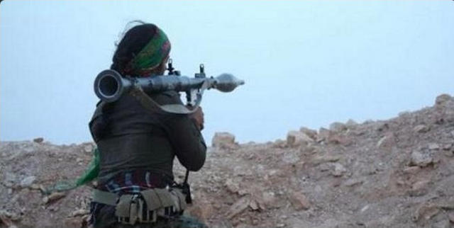 Kurdish woman | YPJ fighter