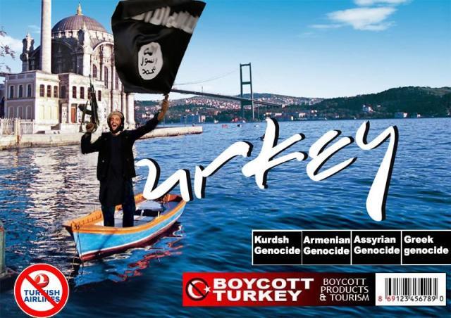 Turkey -  A terror state
