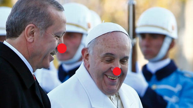 pope francis turkey