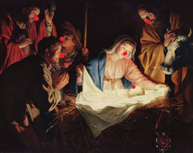 Gerard_van_Honthorst The Adoration of the Shepherds