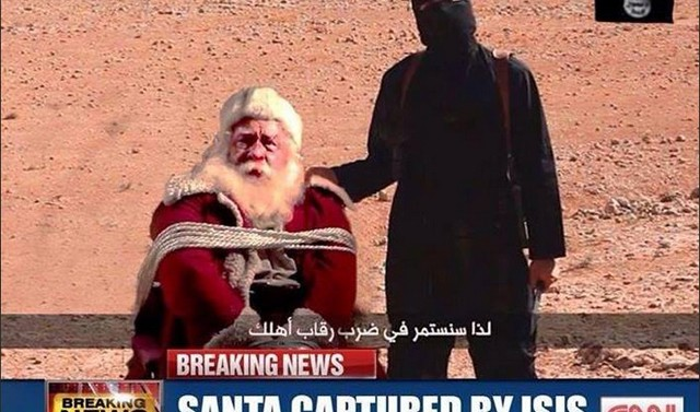 IS Santa Hostage