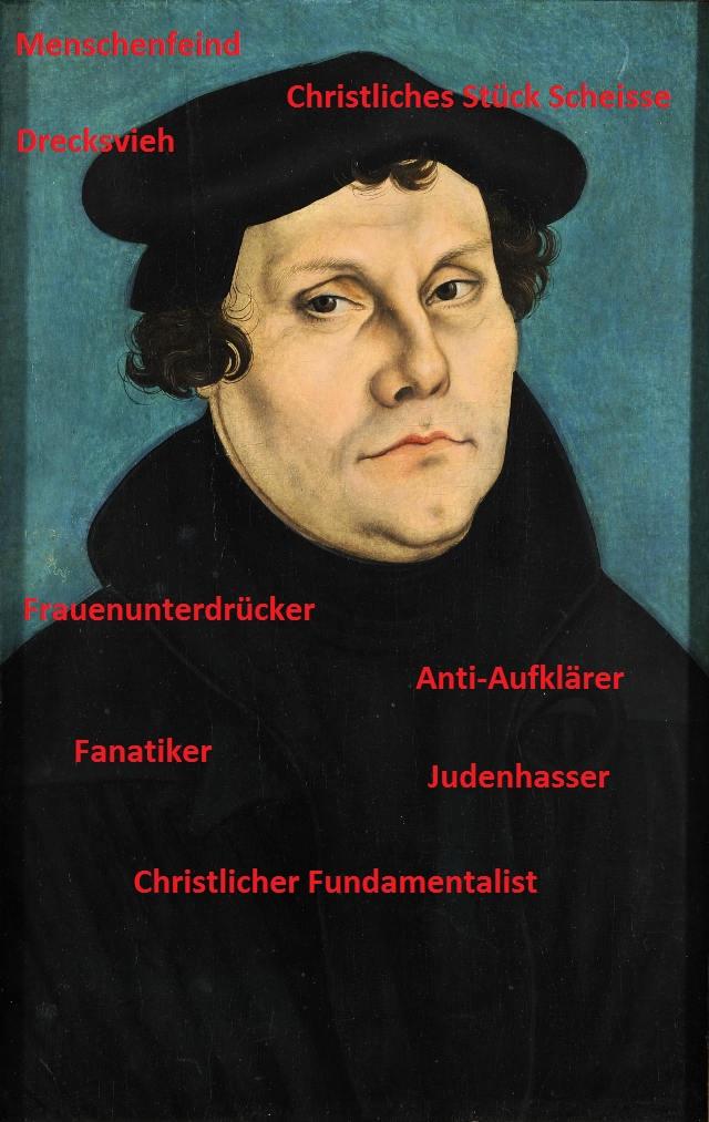 Martin Luther. Porträt von 1528, Lucas Cranach der Ältere
