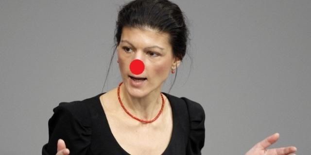 Sahra Wagenknecht von der Partei Die Linke Foto: Wolfgang Kumm