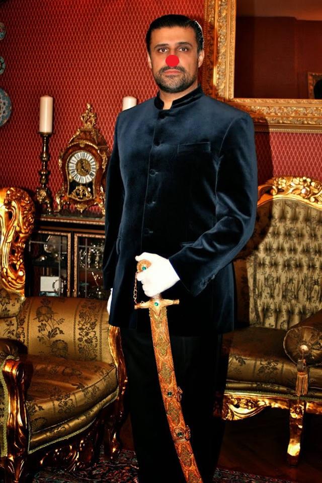 Pomadenprinz Sultan Mirza Khan Kadschar