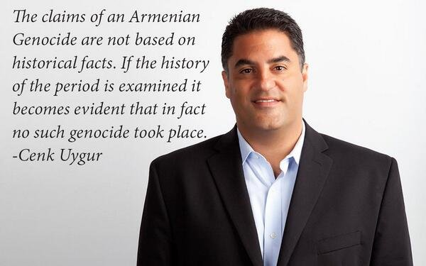 Cenk Uygur about Armenian Genocide