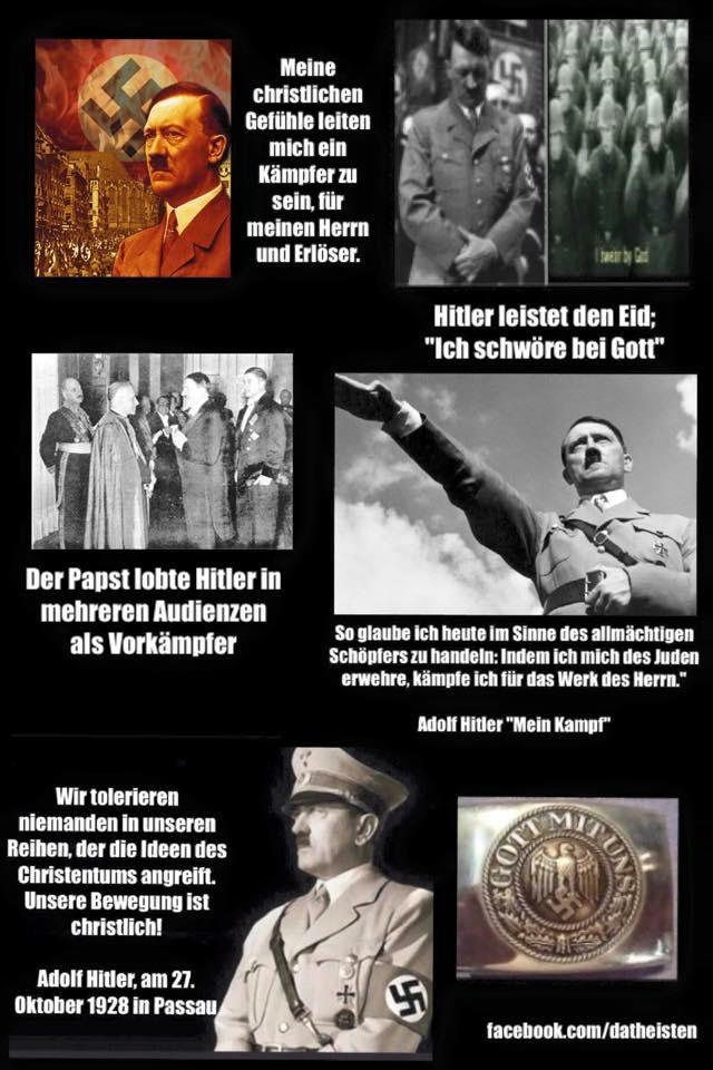 Hitler, der gläubige Christ