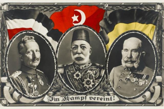 Türkei Deutschland Waffenbrüderschaft1