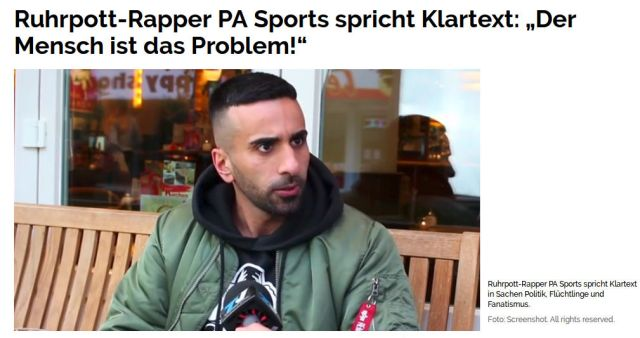 Ruhrpott-Rapper PA Sports