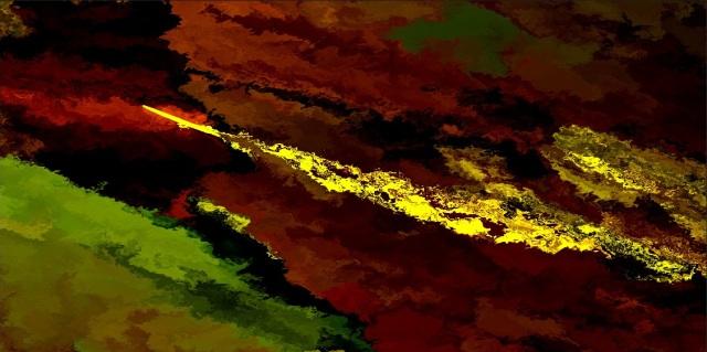 burning sword of Iran