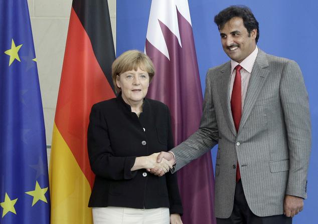 merkel-qatar