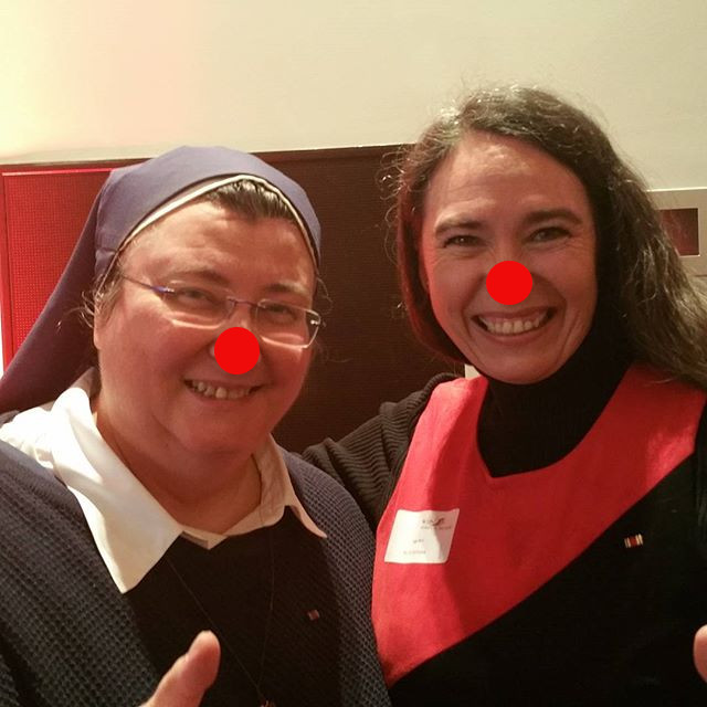 Christliche Drecksfotze Inge Bell mit einer anderen christlichen Drecksfotze