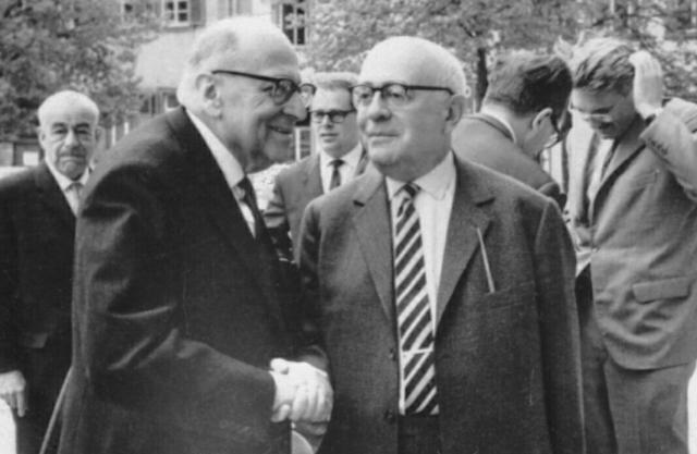 Jüdische Huren Theodor W. Adorno, Max Horkheimer