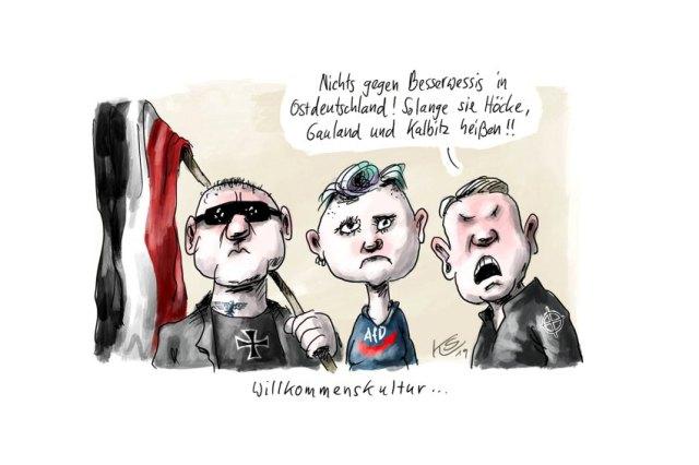 Nazis sind westdeutsch