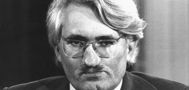 Jürgen Habermas, charakterlich entarteter Gesichtsmonster