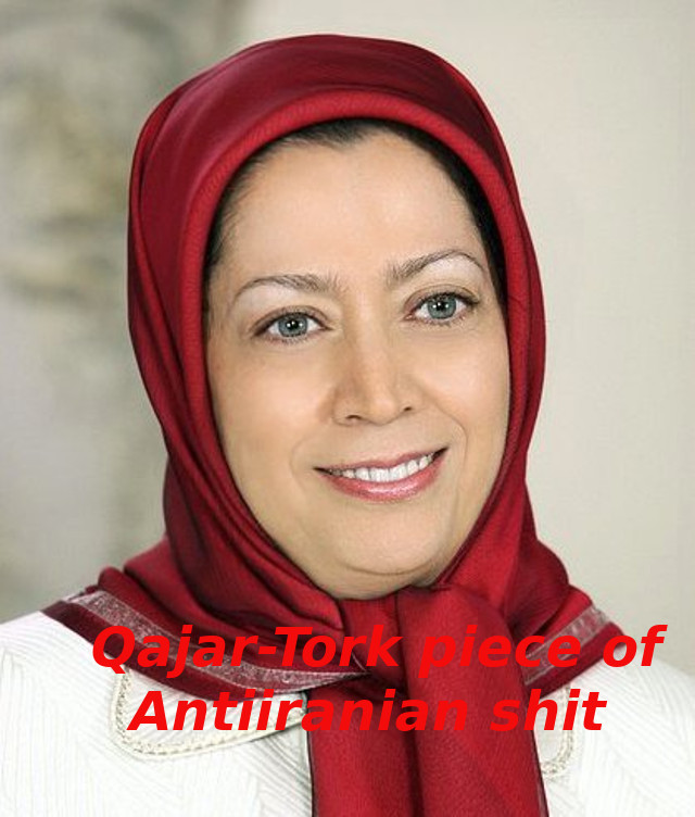 The face of Turkish-aristocrat foreign rule and fanatism: Terrorist Maryam Qajar-Azodanlu (Rajavi)