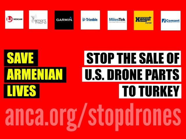 Stop the sale of drone parts to Turkey