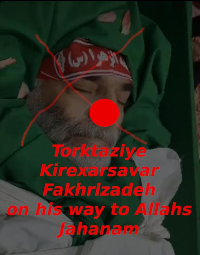 Torktaziye Kirexarsavar Fakhrizadeh saghat shod