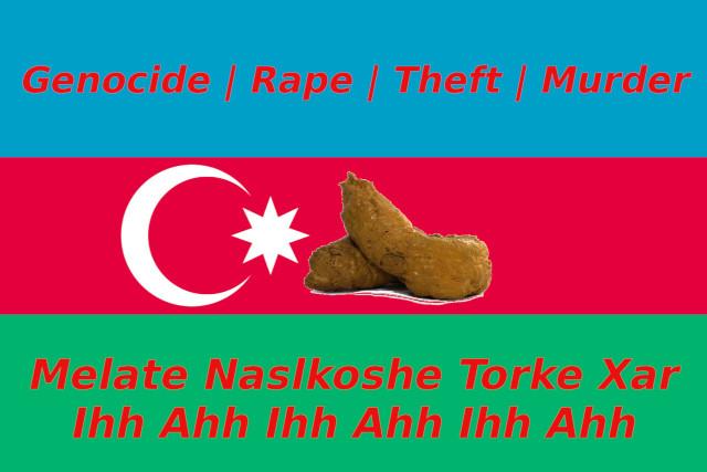 Real flag of Azerbaijan2