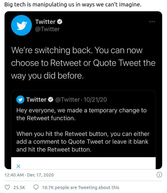 Twitter is a asshole