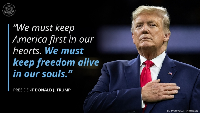Donald J. Trump | The best President of our lifetime | Now his reign will last for 16 years
